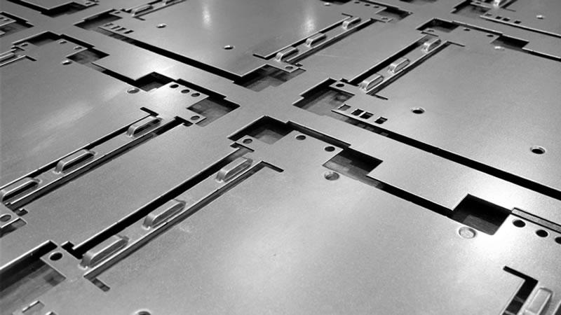 CNC Laser Cut Parts - Parts Turned